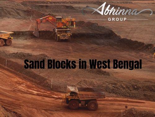 Sand Blocks in West Bengal , sand block Mining Company in Kolkata