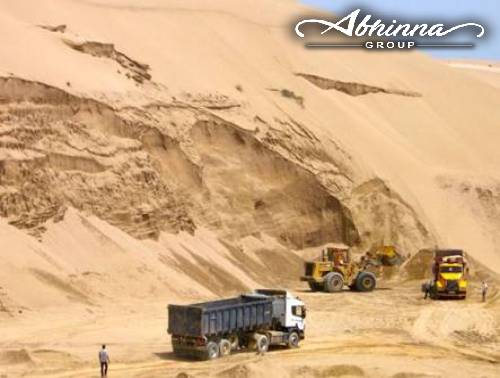 Sand Mining in west Bengal