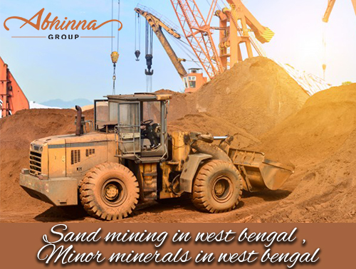 sand mining in west bengal , Minor minerals in west bengal