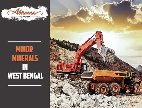 minor minerals in West Bengal