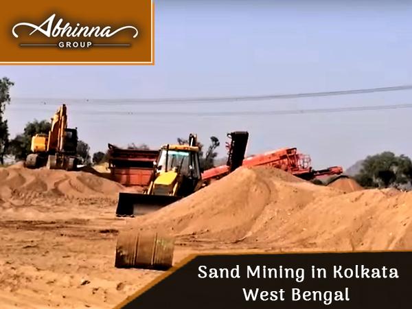 sand mining in kolkata west bengal